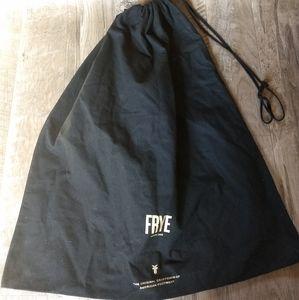 FRYE dust bag - Black large size drawstring top